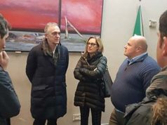 Enrico Rossi e Federica Fratoni