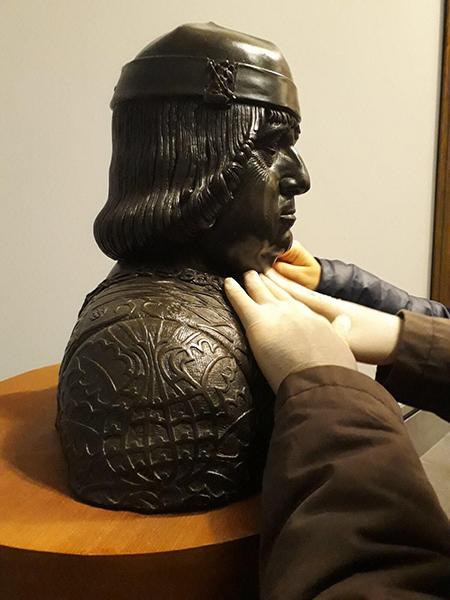 Ferrante d'Aragona di Guido Mazzoni - Percorsi tattili – Capodimonte tra le mani