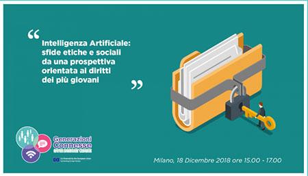 'Intelligenza Artificiale: sfide etiche e sociali da una prospettiva orientata ai diritti dei più giovani'