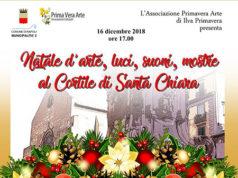 Natale d'arte, luci, suoni, mostre nel Cortile di Santa Chiara