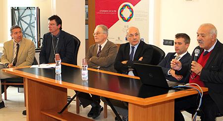 Paolo Romano, Ottavio Lucarelli, Renato Dentoni Litta, Michele Faiella, Gabriel Zuchtriegel e Giovanni Villano