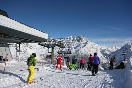 Partenza Thoni Alpe Palù