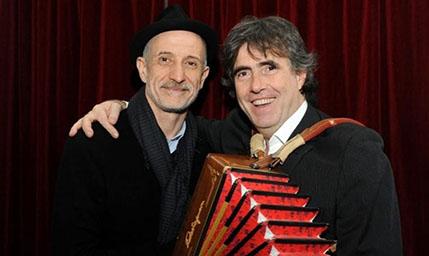 Peppe Servillo e Ambrogio Sparagna