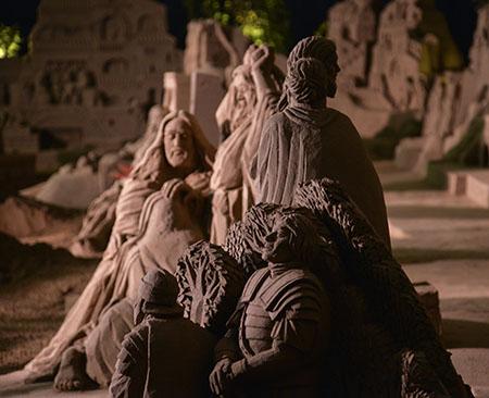 Presepe di Sabbia - Comune di Rimini Assessorato al Turismo