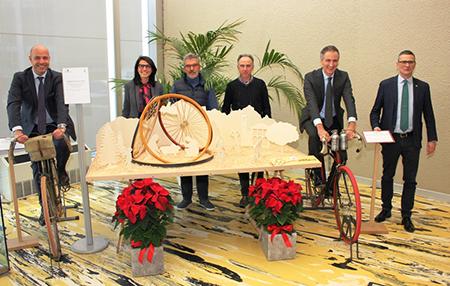 Presepe del ciclista di Magreglio (CO)