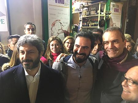 Roberto Fico e Luigi de Magistris