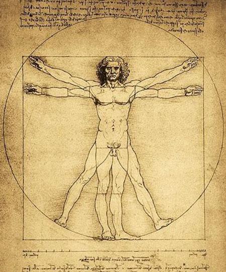 Uomo vitruviano - Leonardo