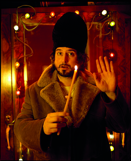 Vinicio Capossela in 'Liturghia d'inverno'