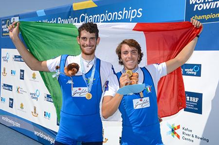 World Champions Alfonso Scalzone e Giuseppe Di Mare