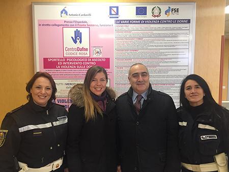 Alessandra Clemente, Ciro Verdoliva e Agenti Polizia Municipale Napoli