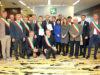 Alessandro Fermi con numerosi Sindaci, Consiglieri regionali e Parlamentari lombardi
