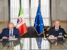 Antonio Uricchio e Valter Girardelli - ph Marina Militare