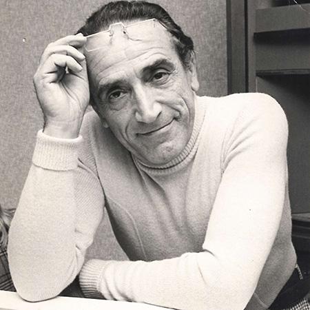 Arnoldo Foà ph. Gino Baldan - Liverani Milano