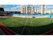 Campo ricostruito scuola De Filippo Napoli