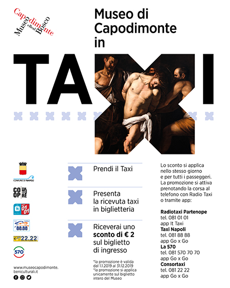 'A Capodimonte in taxi'