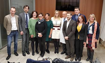 Commissione Sanità alla TIN Mangiagalli di Milano