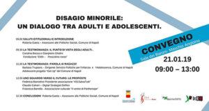 'Disagio minorile: un dialogo tra adulti e adolescenti'