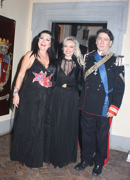 Eleonora Altamore, Yana Kozbagorova e Roberto Augusto Papetti ph Seby Funari
