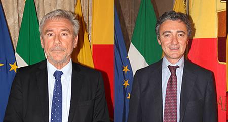 Enrico Panini e Mario Calabrese