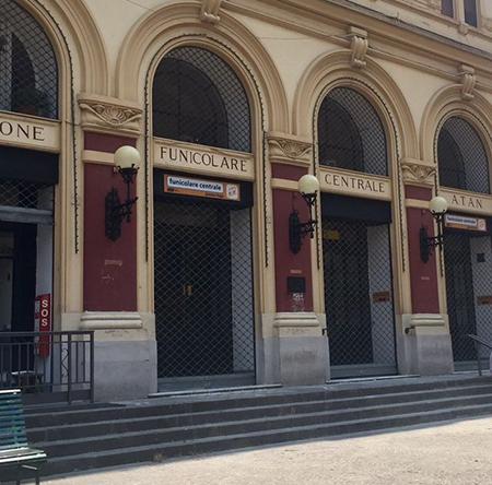 Funicolare Centrale Vomero Napoli