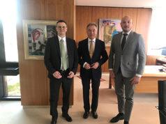 Giovanni Malanchini, Rainer Haas e Dario Voli