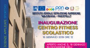 inaugurazione Palestra Fitness ISIS 'Majorana Fascitelli' Isernia