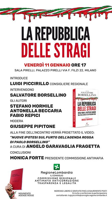 'La Repubblica delle stragi' Salvatore Borsellino