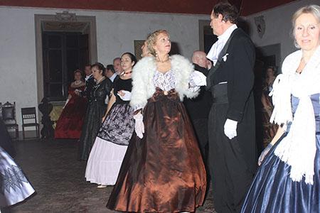 Ospiti Gran Ballo di Capodanno al Castello Colonna di Patrica (FR) ph Seby Funari
