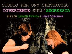 'Studio per uno spettacolo divertente sull'anoressia'