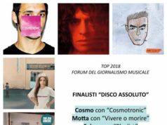 Top 2018, finalisti