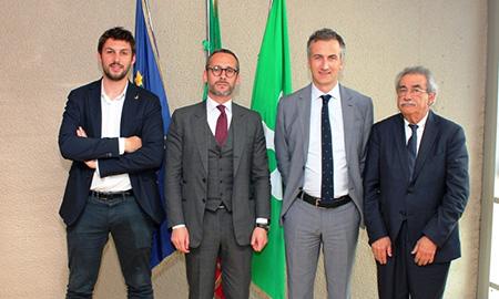 Alessandro Corbetta, Mauro Piazza, Alessandro Fermi e Giuseppe Villani