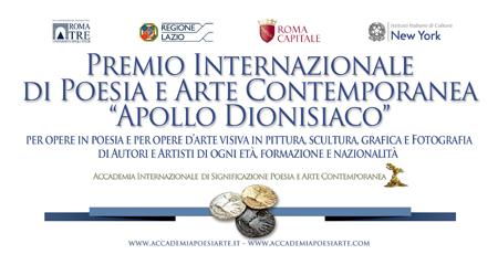Bando Premio Apollo dionisiaco