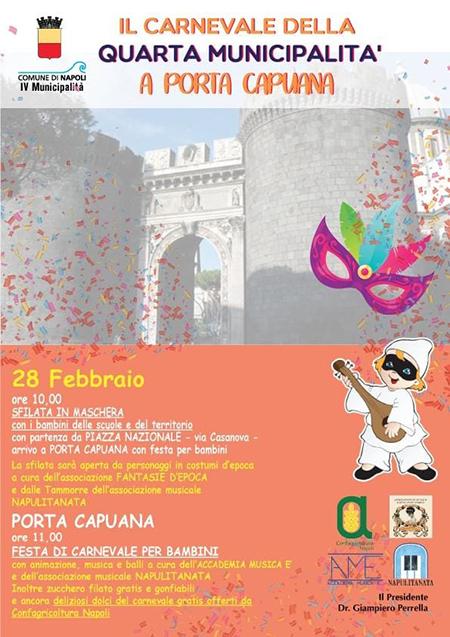 Carnevale della IV Municipalità a Porta Capuana