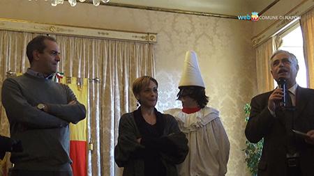 Luigi de Magistris, Luisa Amatucci e Nino Daniele