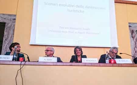 Mariapina Trunfio, Antonio Izzo, Liliana Speranza e Raffaele Sibilio