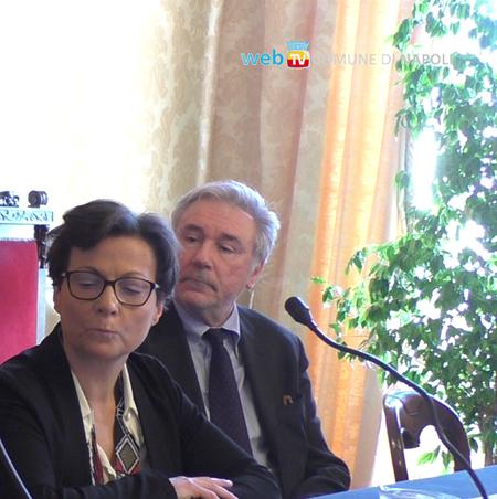 Monica Buonanno ed Enrico Panini
