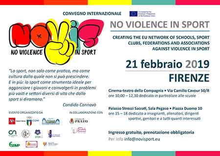 'No violence in sport'