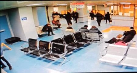 Riprese telecamera Ospedale 'Sant'Anna e San Sebastiano' di Casert