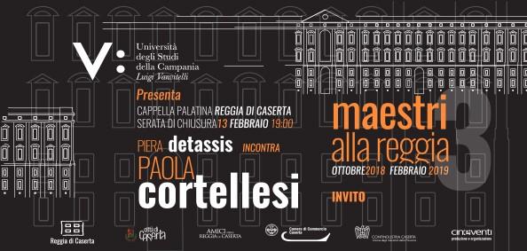 Paola Cortellesi a 'Maestri alla Reggia'