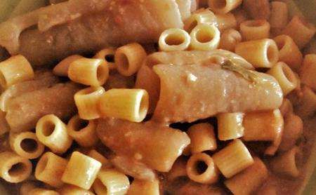 Pasta e fagioli con le cotiche