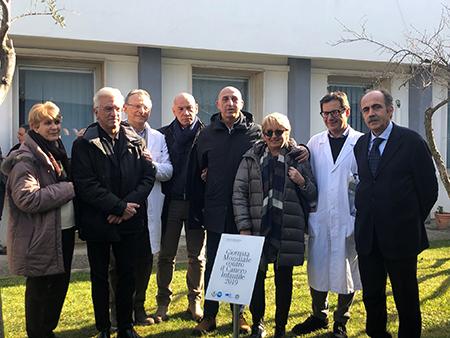 Piantumazione melograno Radioterapia Salerno