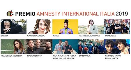Premio Amnesty International Italia 2019