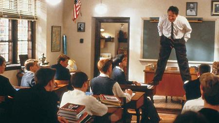 Robin Williams ne 'L'attimo fuggente'