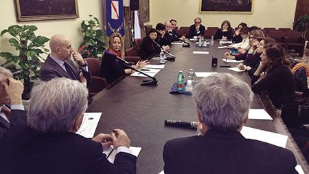 Tavolo tecnico per la prevenzione e il contrasto del fenomeno di abusi e maltrattamenti sui minori in Campania