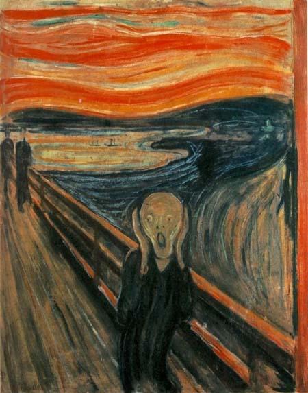 'L'urlo' di Edvard Munch