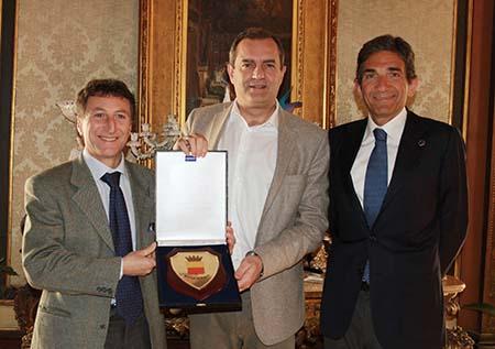 Antonio Tafuri, Luigi de Magistris e Giuseppe Napolitano