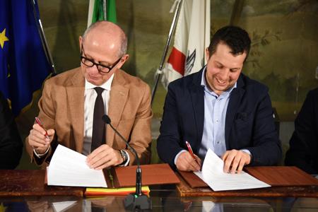 Ciuffo, firma accordo Amiata