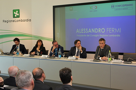 Convegno 'Prospettive e analisi del mercato pubblico e privato' a Milano