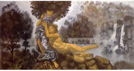 Corrado Cagli, 'Apollo e Dafne'