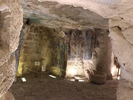 Cripta di San Giovanni in Monterrone, Chiesa di Santa Maria de Idris di Matera